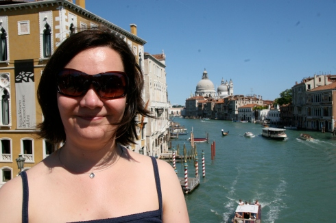 Me at the Grand Canal
