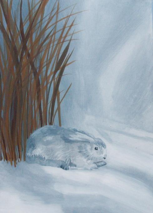 acrylic rabbit
