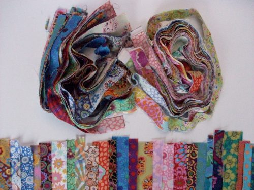 Kaffe fassett fabric swatches