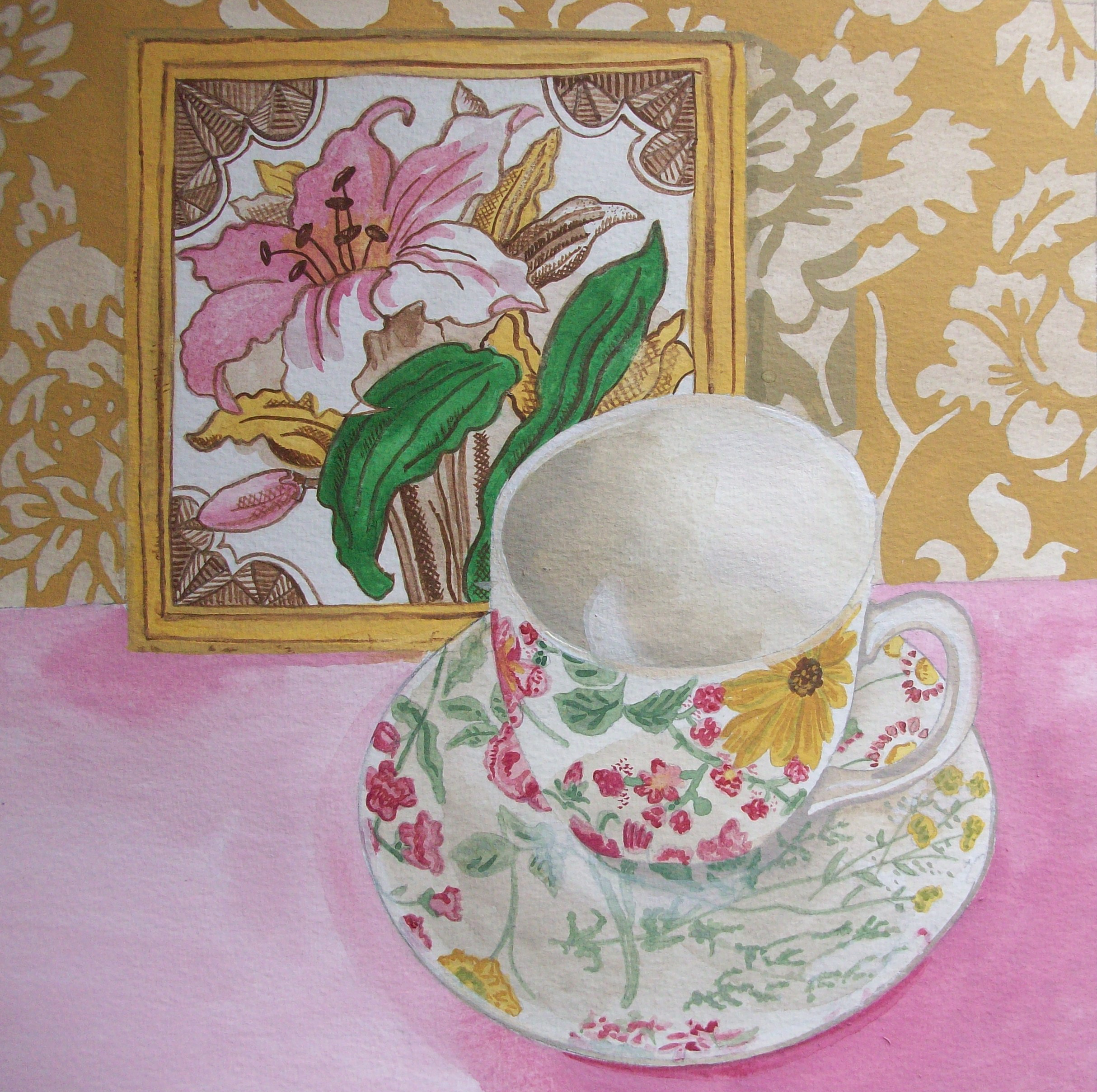 "© Claire Leggett ""TIle and Teacup"""