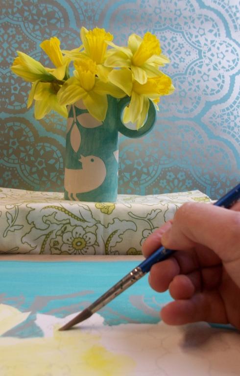 daffodils_painting