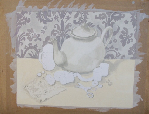 teapot and cups on Etsy, a global handmade and vintage marketplace.