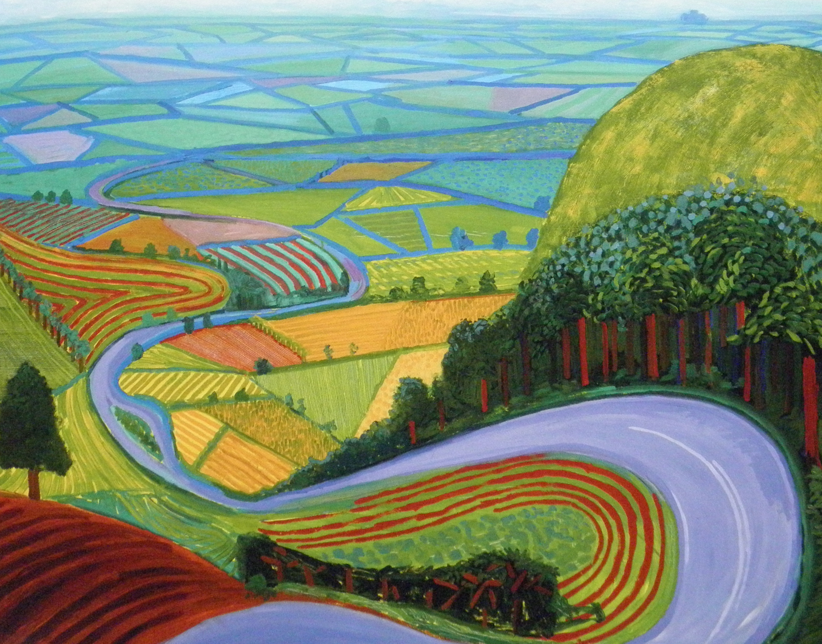 Favori Is David Hockney the greatest living British painter just by  CA64
