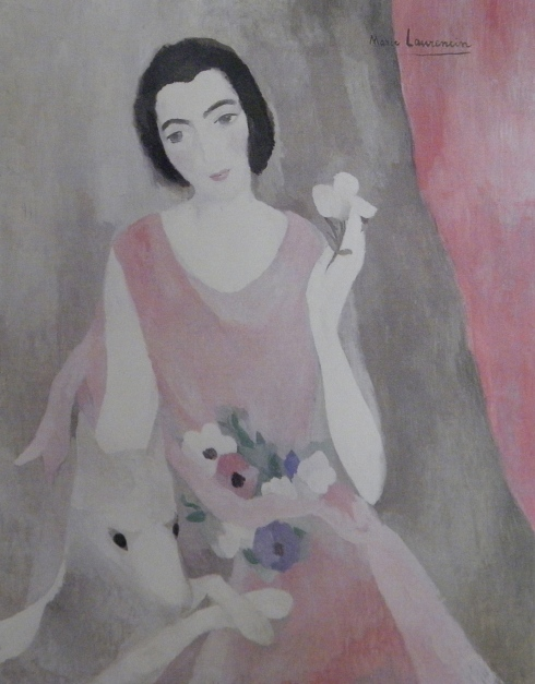 Marie Laurencin - Portrait de Madame Paul Guilaume 1924