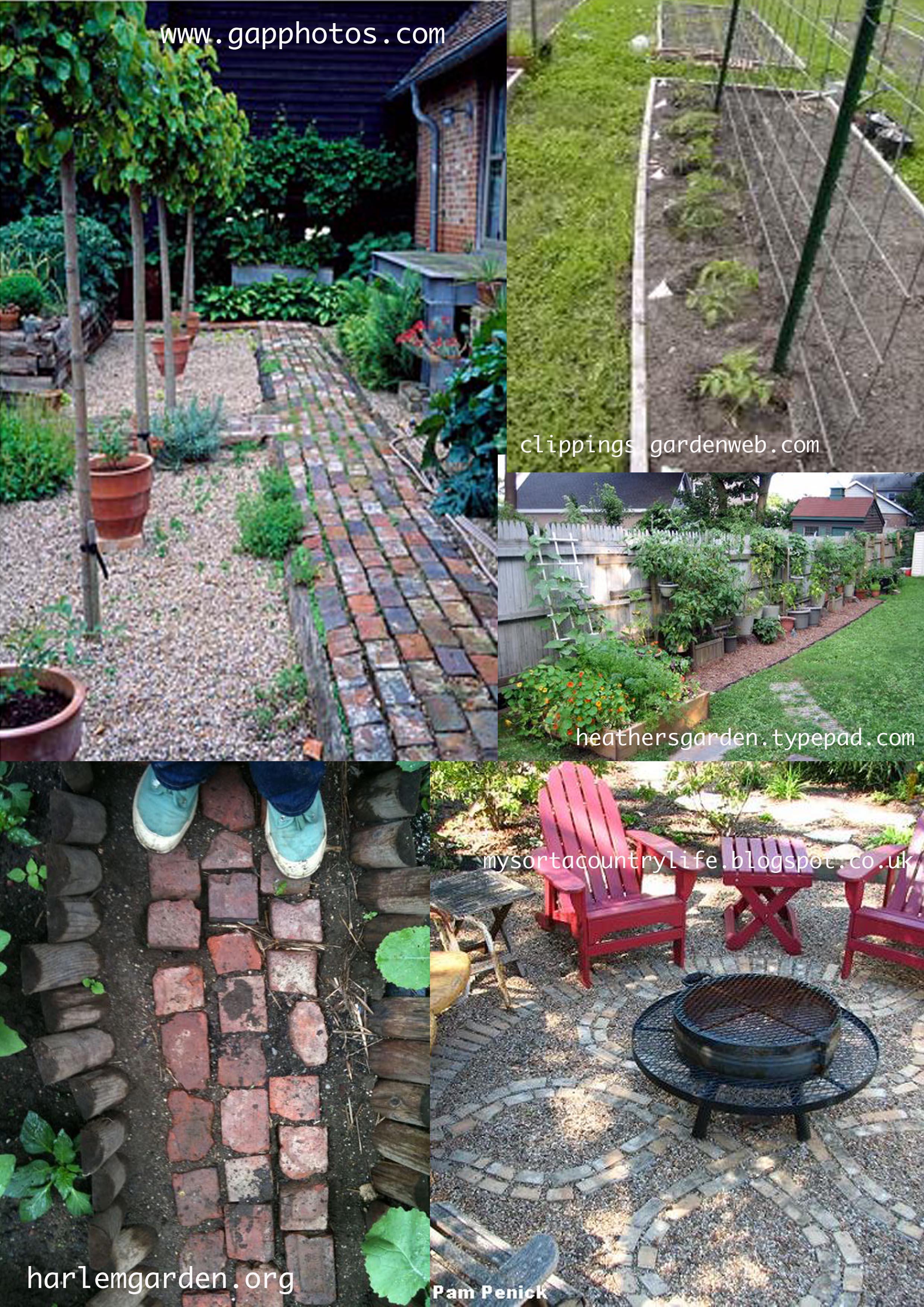 Garden Plans Paint Drops Keep Falling