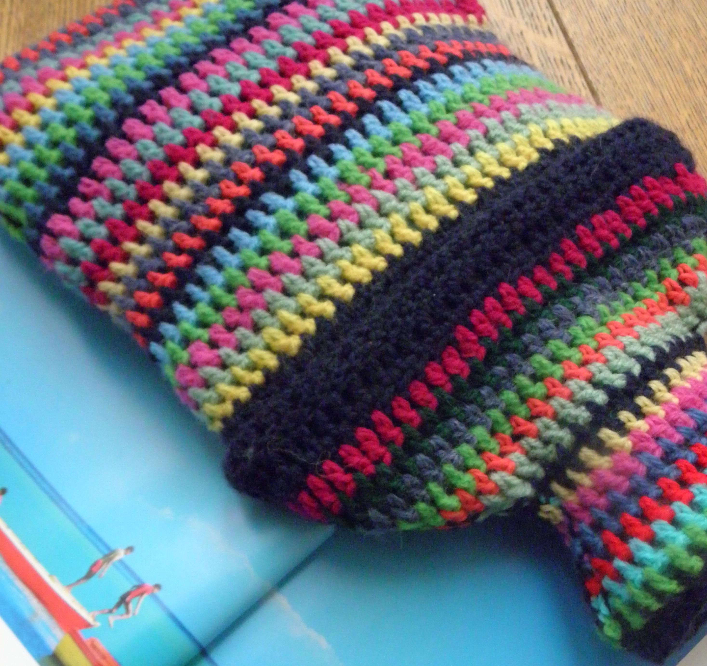 crochet hot water bottle | Paint Drops Keep Falling