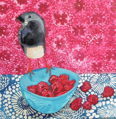 Raspberry Sneak                  © Claire Leggett
