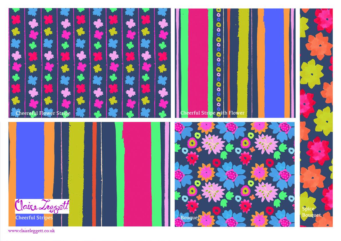 Cheerful Bouquet Design 2 Template_72dpi