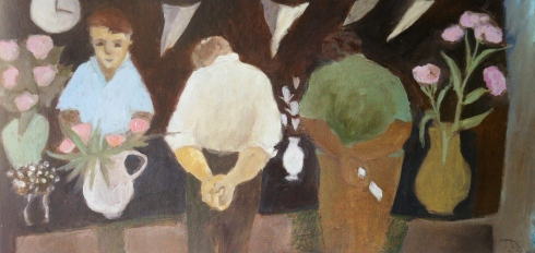 Then we can have tea and a bit of that cake by Tessa Newcomb