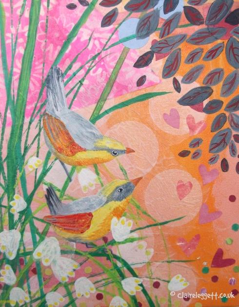 Marsh Wrens © Claire Leggett