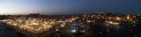 Djemaa El Fna square nite