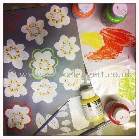 cream daisy