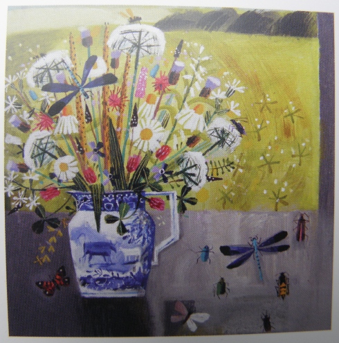 Mary Sumner New Jug and Insects