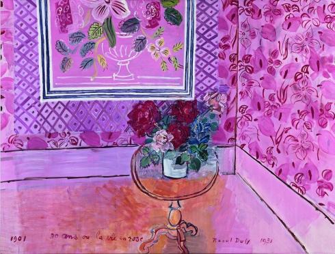 La Vie en rose, 1931 Raoul Dufy