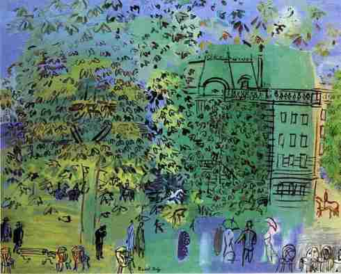 Avenue-Boulogne - Raoul Dufy
