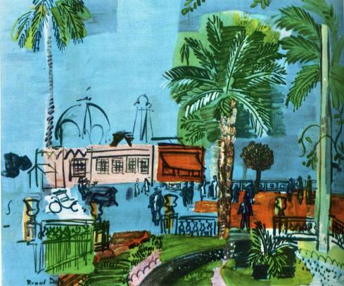 Casino-of-nice-1927 Raoul Dufy