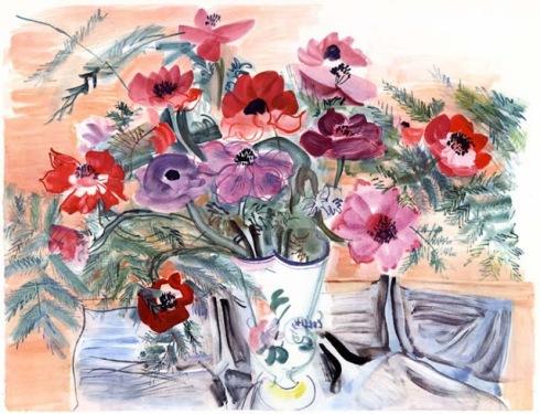 Raoul Dufy Aanemones