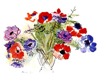 Raoul Dufy Anemones
