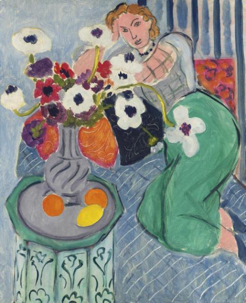 Henri Matisse  L'Odalisque, harmonie bleue