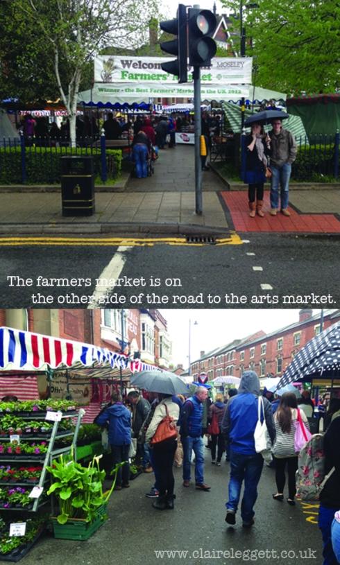Claire Leggett Moseley Farmers Market