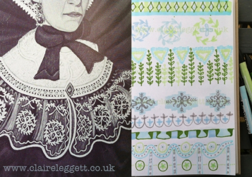 Claire Leggett Folk Art Doodles 2