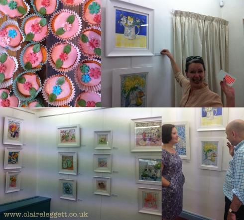 Harborne Gallery_preview night_Claire Leggett