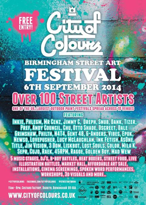 City of Colours Flyer