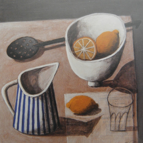 Astrid Trügg  Lemon and Stripy Jug