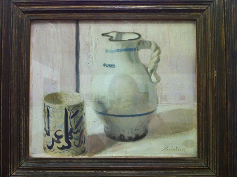 Sir William Nicholson     Pink Still Life with Jug c 1936