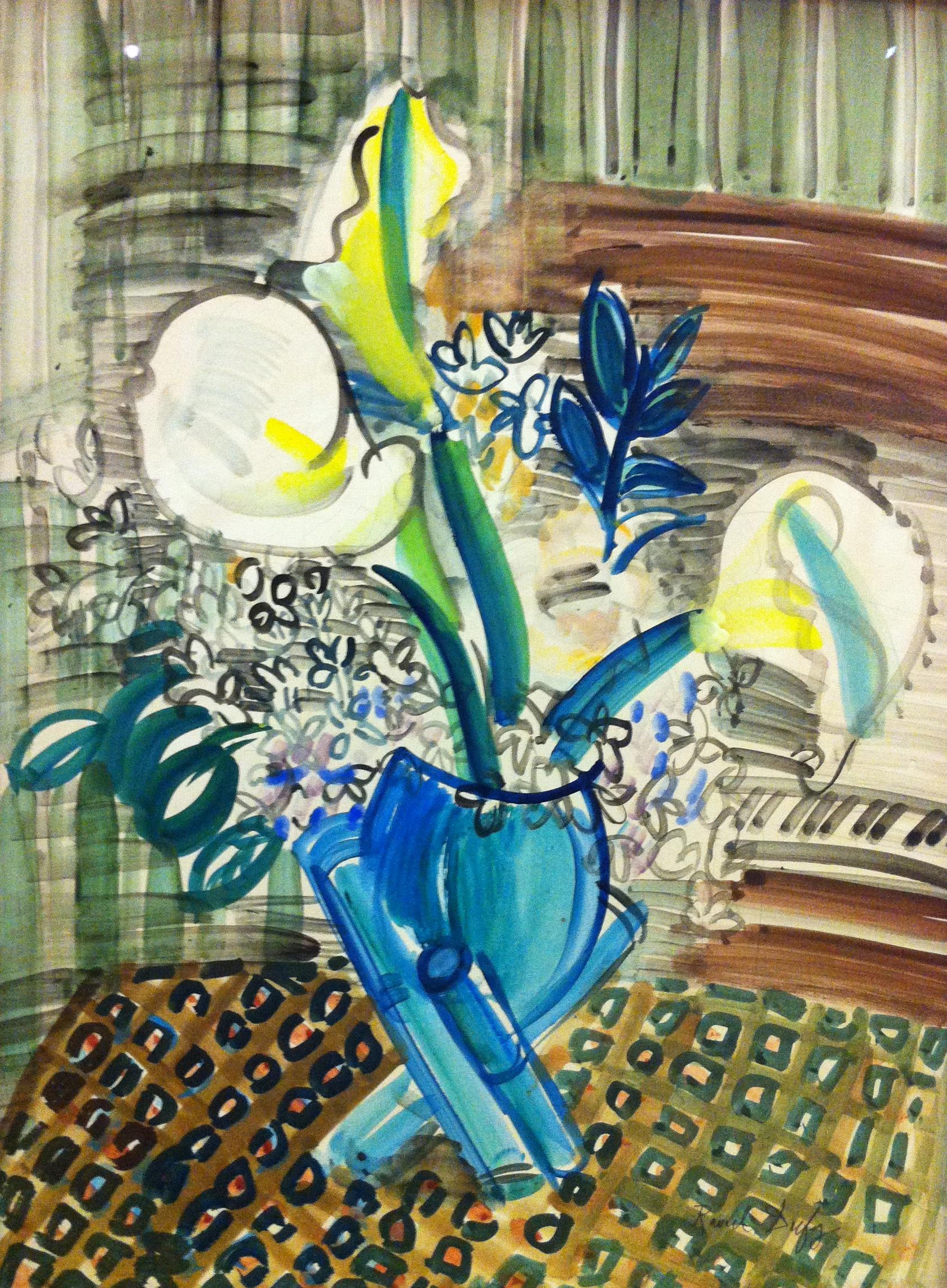 Raoul Dufy Lis   Paint...