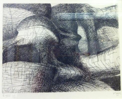 Henry Moore          Elephant Skull