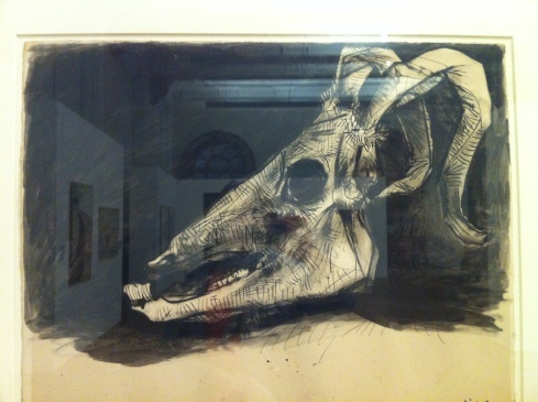 Pablo Picasso  Skull of a Goat
