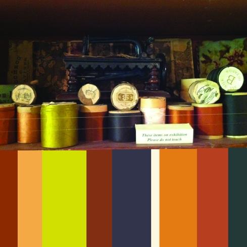 american museum colour palette