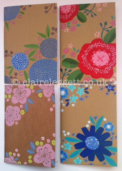 claire leggett large notebooks