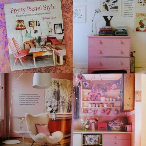 Pastel pink book