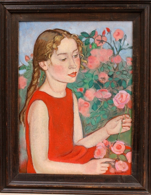 Jeune fille en rouge