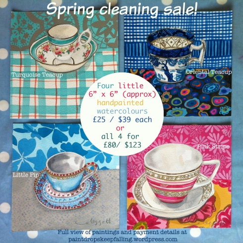 spring cleaning sale notice