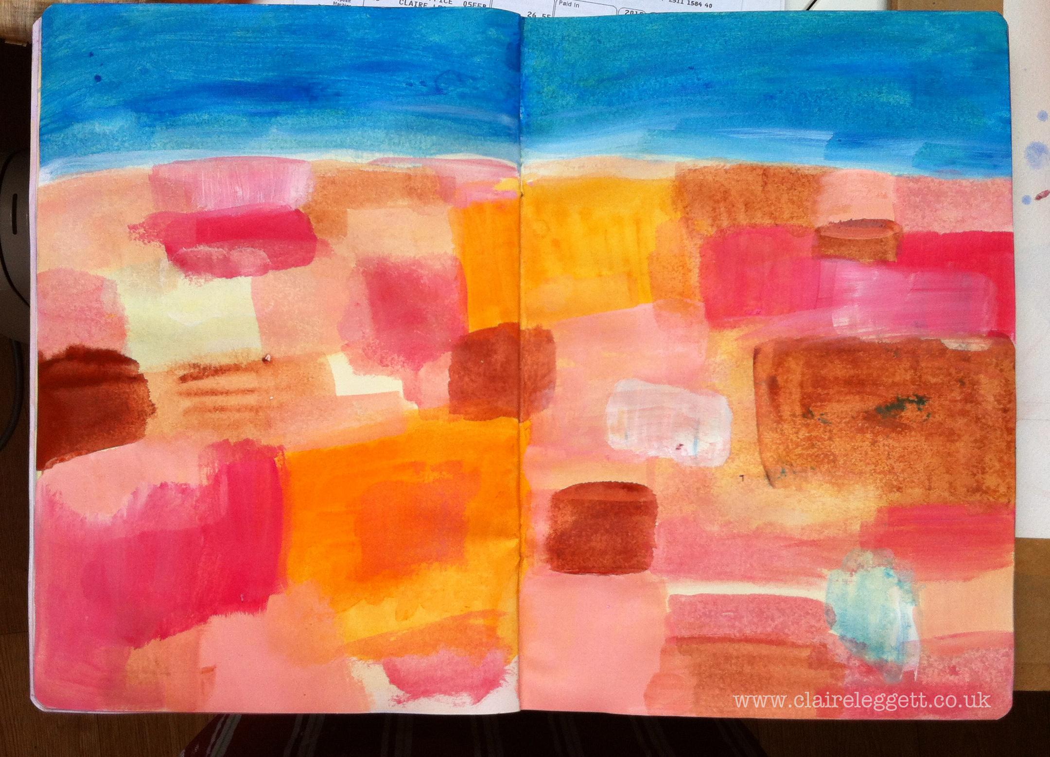 rooftops in sketchbook 2