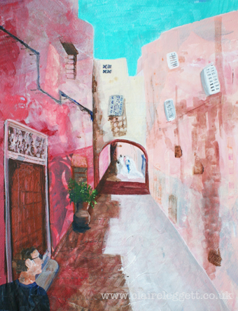 Claire_leggett_Moroccan Alleyway