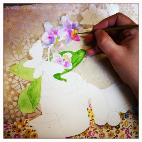 Claire_leggett_watercolour_painting_in progress