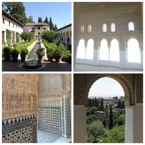 Alhambra collage
