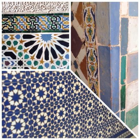 Spanish tiles Claire Leggett