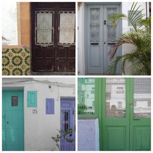 Spanish doors claire leggett
