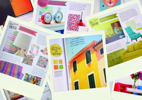 Bright Bazaar book montage