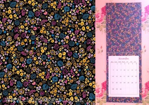 claire Leggett Novemebr calendar page 2016