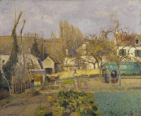 Pisarro: Kitchen Gardens at L'Hermitage