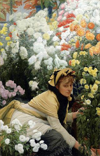 Tissot: Chrysanthemums
