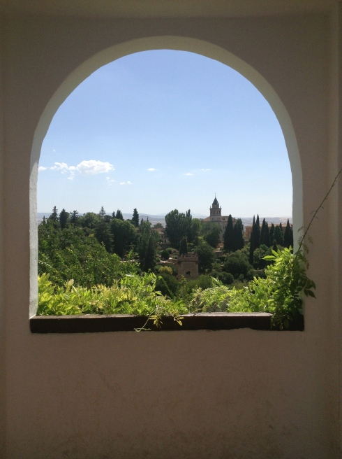 The Alhambra window 5