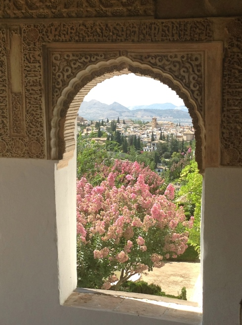 The Alhambra window 6