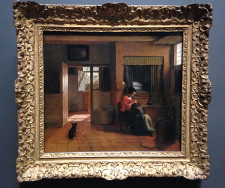 A Mother's Duty - Pieter de Hooch